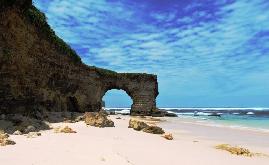 bwanna beach a Sumba , selvaggia e magnifica