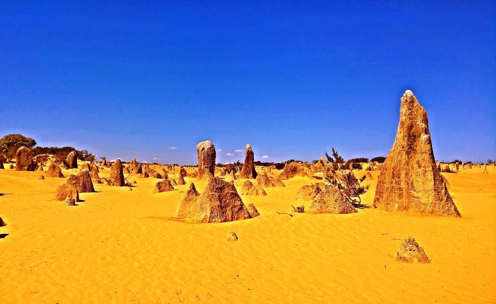 Il deserto dei pinnacoli nel western australia
