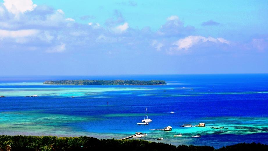 Isole Karimunjawa l'azzurro e il blu