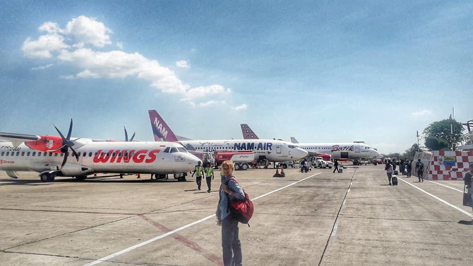 indonesia in aeroporto