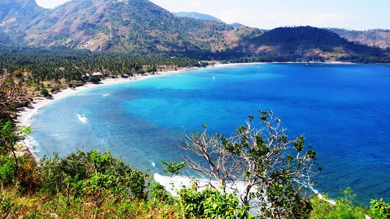 Lombok le baie del nord