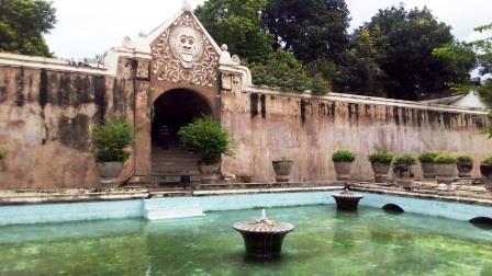 Yogyakarta il palazzo d'acqua