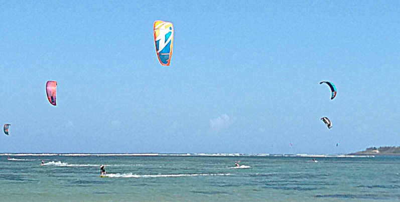indonesia kite surf a sanur
