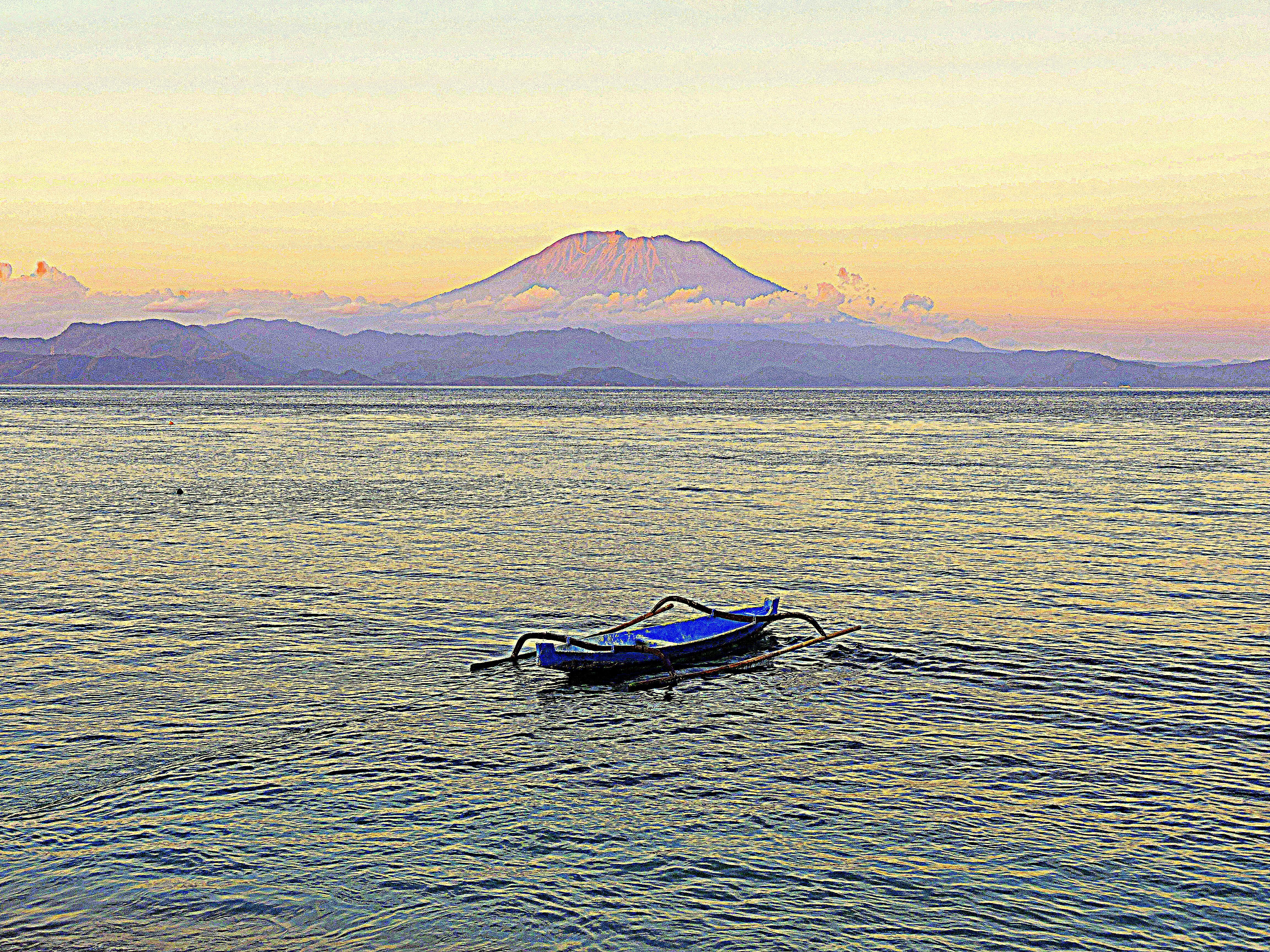 bali mare e vulcano