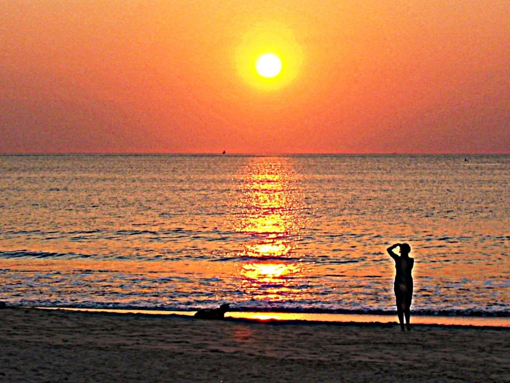 Bali tramonto a Jimbaran