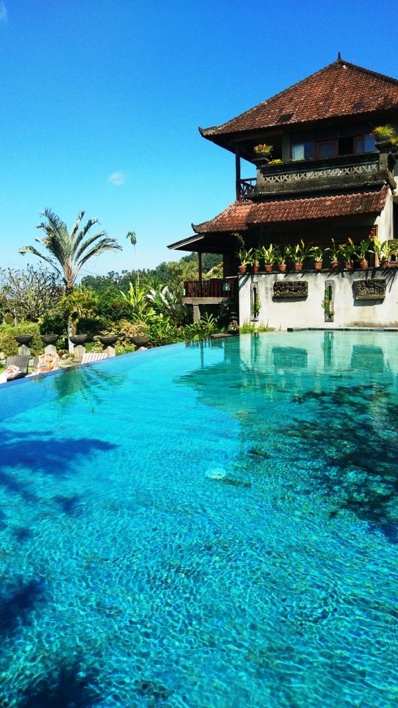 casa e piscina a Bali