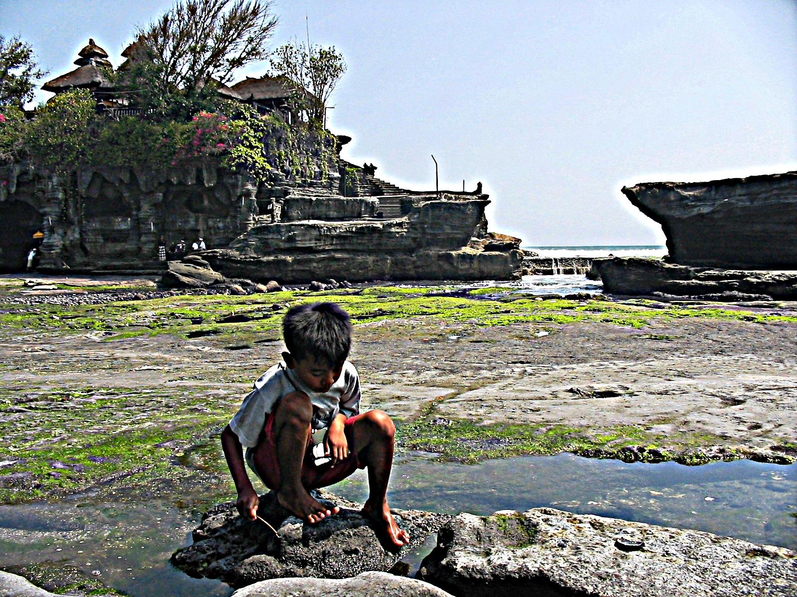Bali tanah lot e bimbo