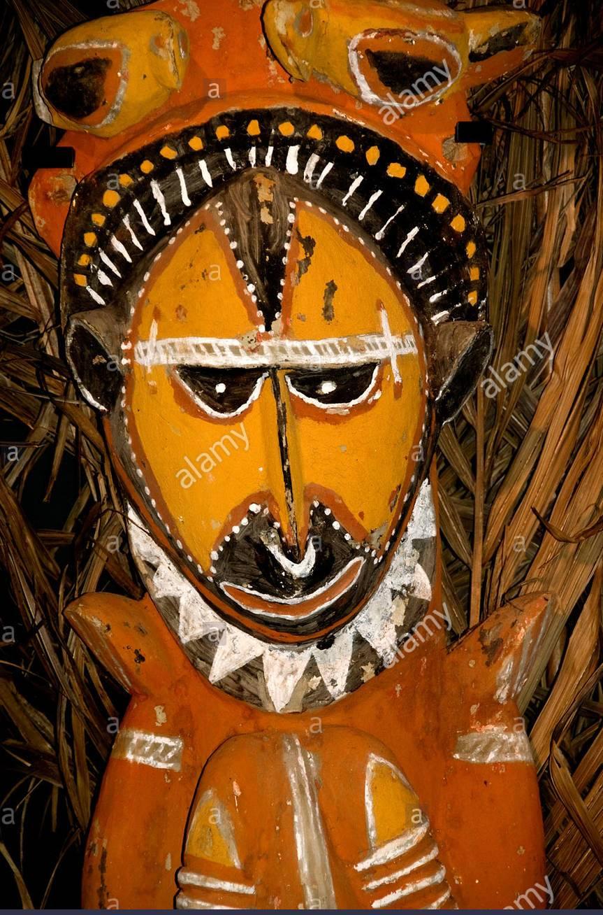 arte asmat maschera