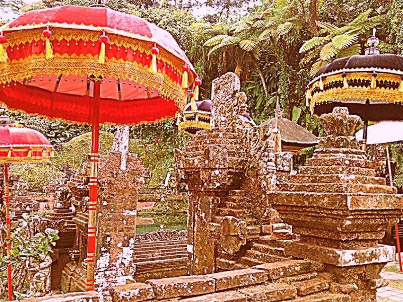 Bali un tempio