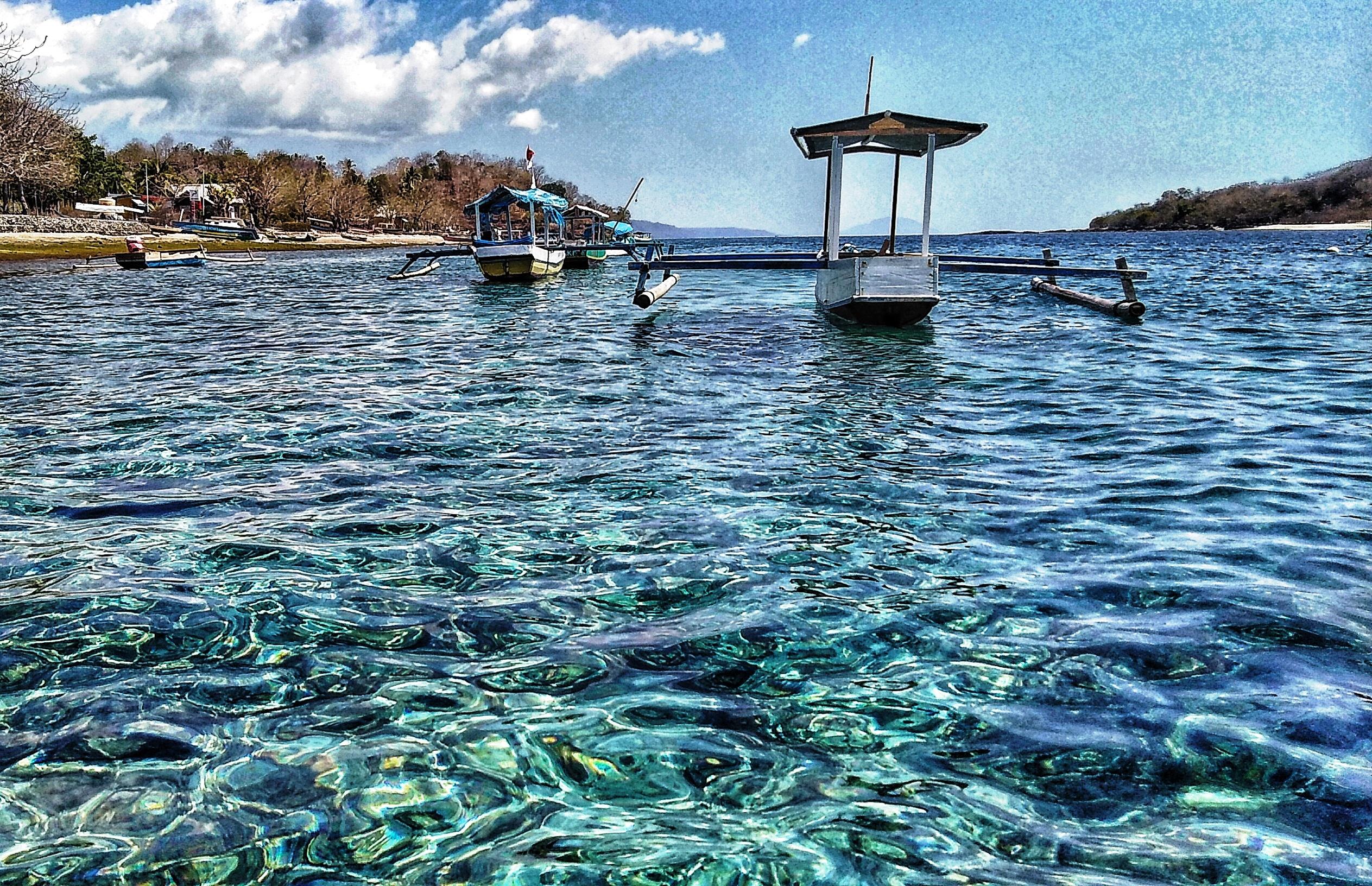 Raja Ampat barche e trasparenze