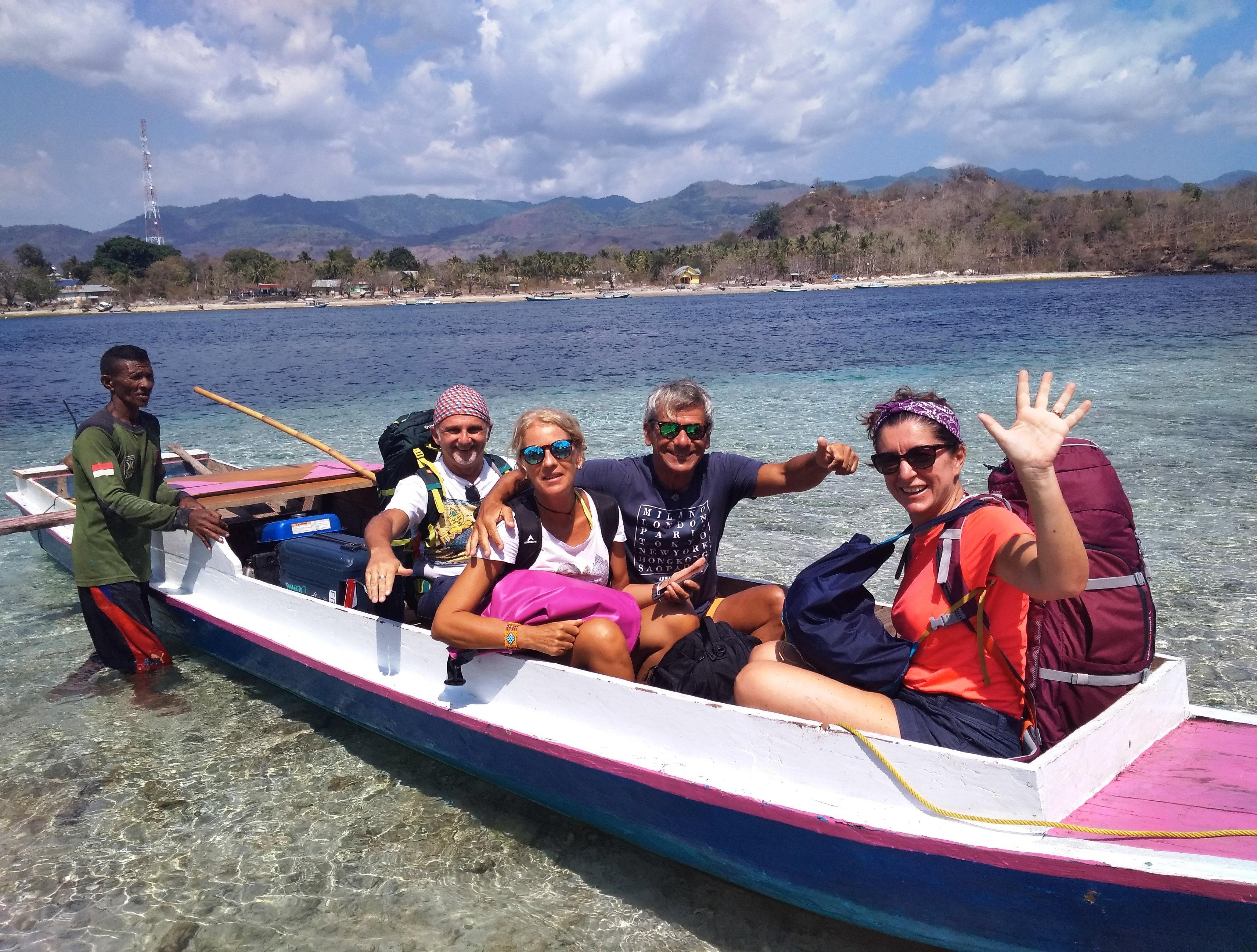 viaggiare insieme in barca a kepa