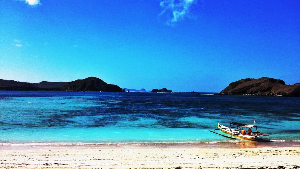 una delle belle baie di Lombok