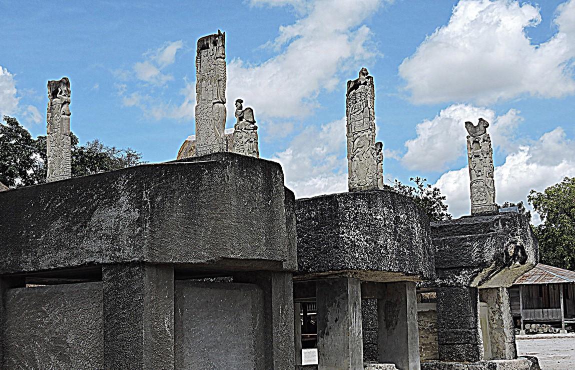 Sumba tombe megalitiche