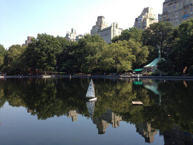 New York central park laghetto